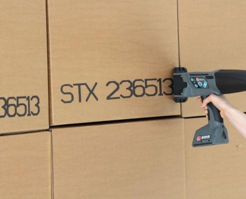 Portable Cardboard Printing EBS 260